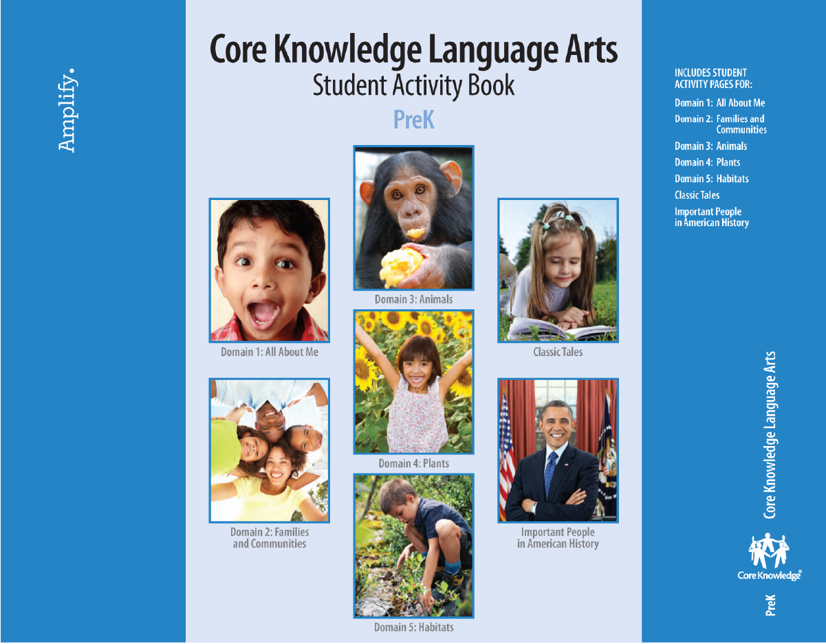 Amplify CKLA Activity Book