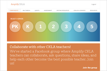 An image of Amplify CKLA 2nd Edition